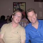 Blake Crouch and Tom Shreck