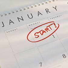 New Year start